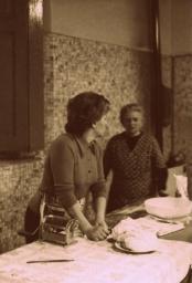 Augusta e Nonna Maria anni '70